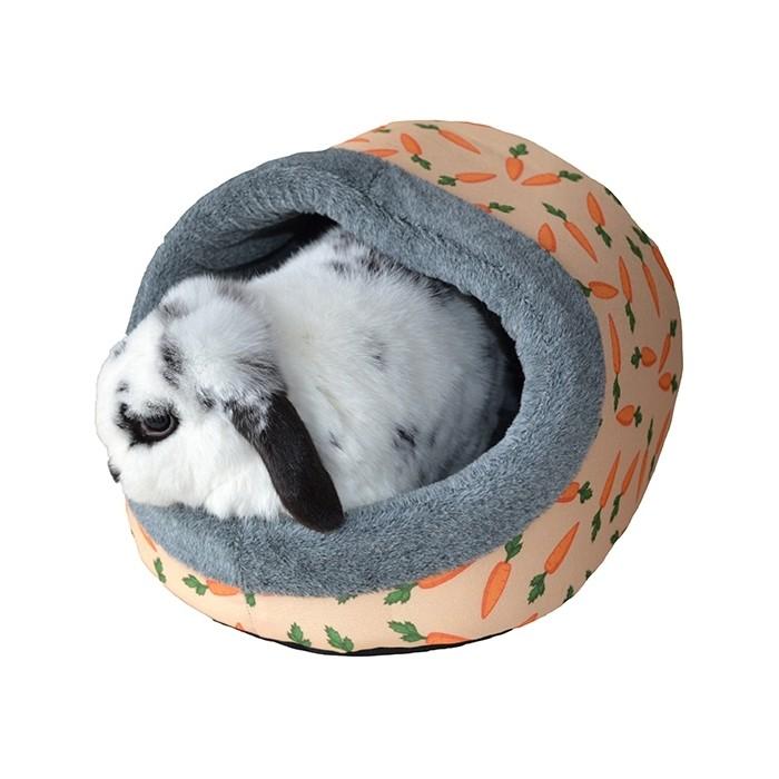 Couchage et habitat rongeur - Dôme carotte pour rongeurs
