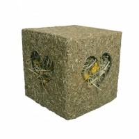 Friandise pour rongeur - Cube en herbes Rosewood