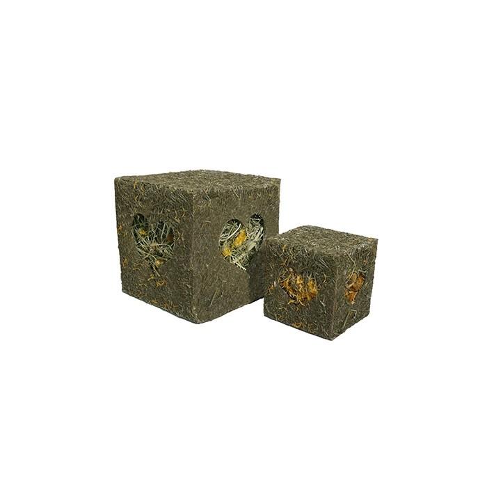 Friandise et complément  - Cube en herbes pour rongeurs
