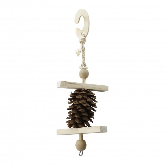 Sélection Noël - Pomme de pin à suspendre pour rongeurs