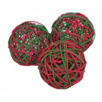 Balle pour rongeur - Trio de balles festives pour rongeur Rosewood