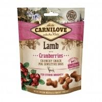 Friandises pour chien sensible - Crunchy Snack - Agneau et cranberries Carnilove