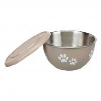 Gamelle pour chien et chat - Gamelle Fresh Feed avec couvercle Trixie