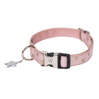 Collier pour chien - Collier Star Rose Wouapy