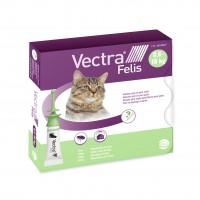 Anti-puces pour chat -  Pipettes Vectra Felis chat Ceva
