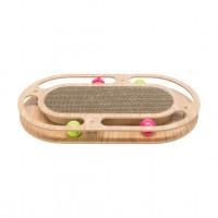 Griffoir pour chat - Plaque griffoir avec cadre bois Trixie