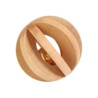 Sélection Printemps - Balle en bois avec grelot