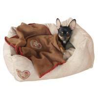 Panier et lit pour chien et chat - Sofa Love you Kerbl