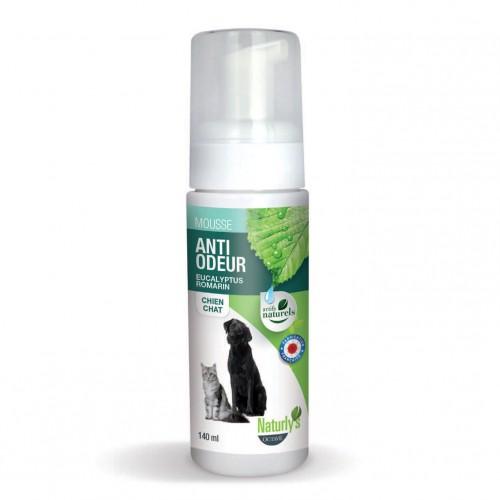 Shampooing et toilettage - Mousse Anti Odeur Eucalyptus / Romarin  pour chiens