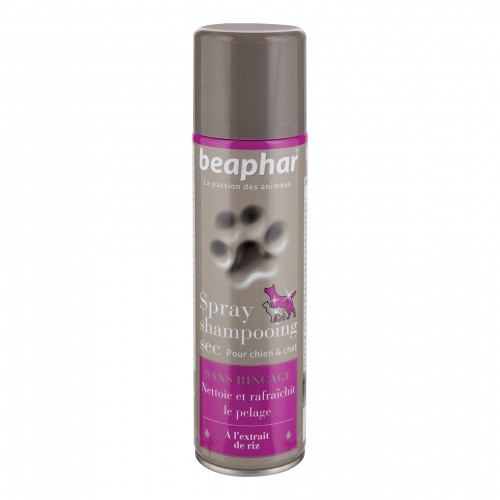 Shampooing et toilettage - Spray Shampooing sec pour chats