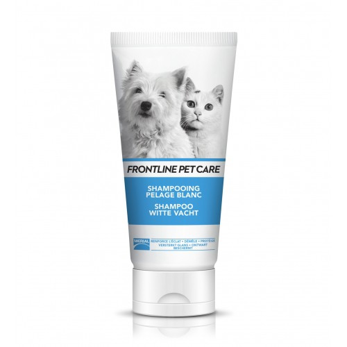 Shampooing et toilettage - Shampooing Pelage Blanc pour chats