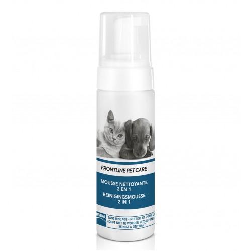Shampooing et toilettage - Mousse Nettoyante 2 en 1 pour chiens
