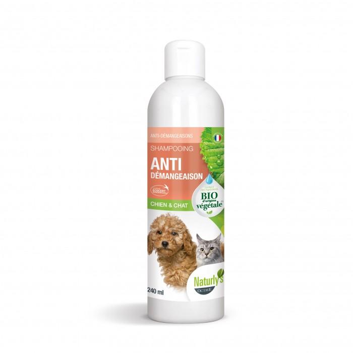 Shampooing et toilettage - Shampooing Bio anti-démangeaisons pour chiens