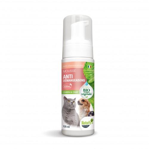 Shampooing et toilettage - Mousse Anti-démangeaisons Bio pour chiens