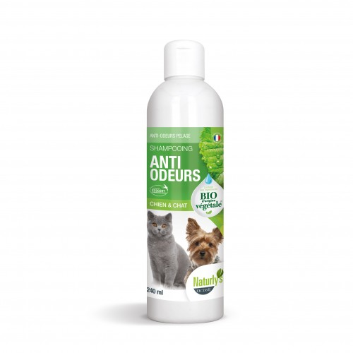 Shampooing et toilettage - Shampooing Bio Anti-odeurs pour chiens