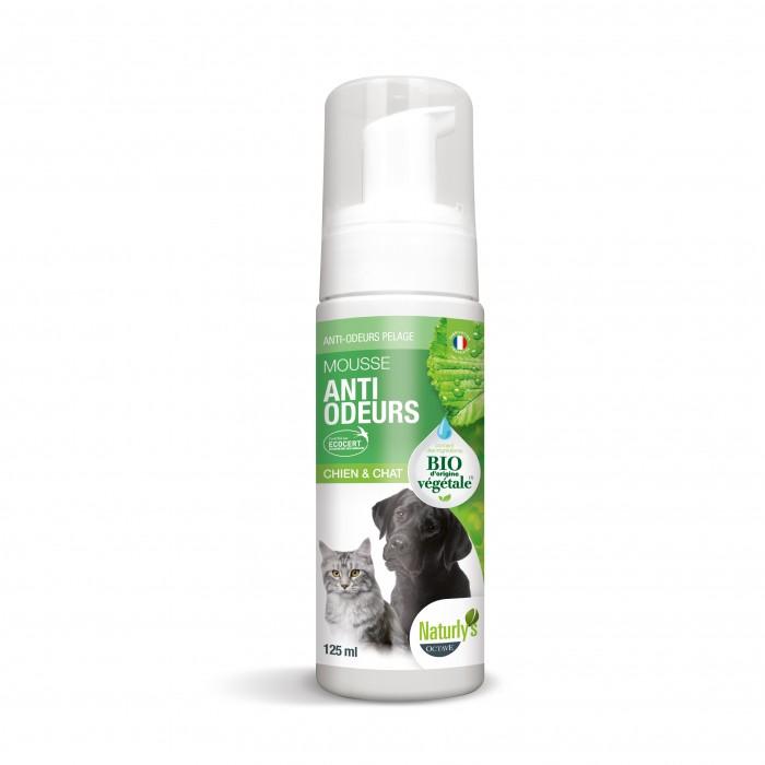Shampooing et toilettage - Mousse Anti-odeurs Bio pour chiens