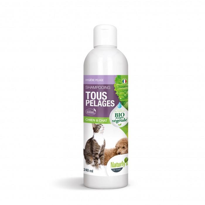 Shampooing et toilettage - Shampooing Bio Tous pelages pour chiens