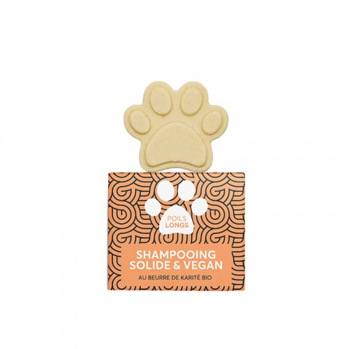 Shampooing et toilettage - Shampooing solide poils longs pour chiens