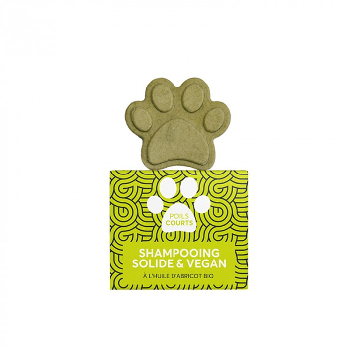 Shampooing et toilettage - Shampooing solide poils courts pour chiens