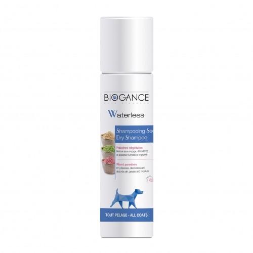 Shampooing sans rinçage pour chien - Shampooing Sec Waterless Biogance