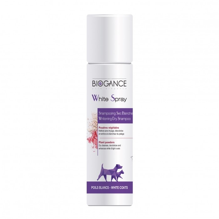 Shampooing et toilettage - Shampooing Sec Blancheur pour chiens