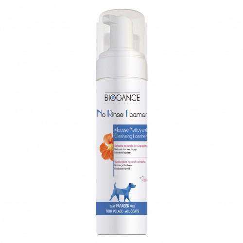 Shampooing et toilettage - Mousse sans rinçage naturelle pour chiens