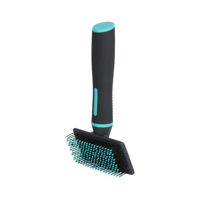 Shampooing et toilettage - Brosse Anah Slicker doux pour chien pour chiens