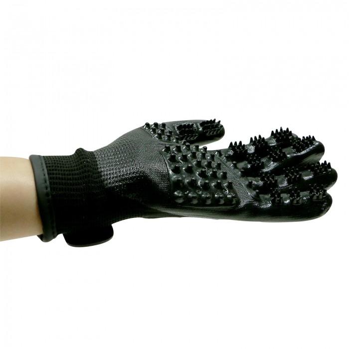 Shampooing et toilettage - Paire de gants de toilettage pour chiens