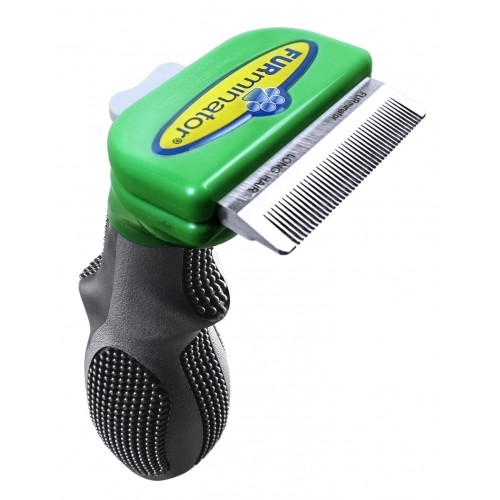 Shampooing et toilettage - Brosse Furminator poils longs pour chiens