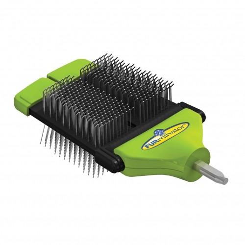 Shampooing et toilettage - Tête brosse carde pour étrille FURflex™ pour chiens