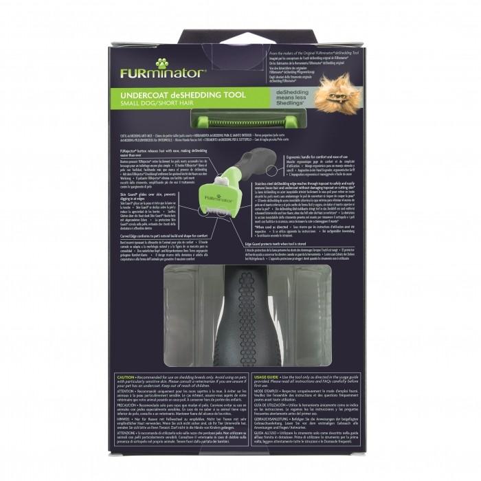Shampooing et toilettage - Brosse Furminator poils courts pour chiens