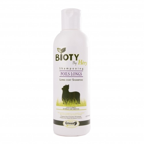 Shampooing pour chien - Shampooing Bioty Poils Longs Héry