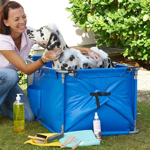 Shampooing et toilettage - Station de toilettage Doggy Shower pour chiens
