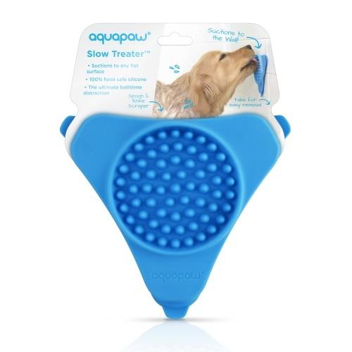 Shampooing et toilettage - Distributeur de friandise mural Slow Treat pour chiens