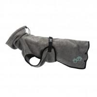 Toilettage pour chien - Peignoir gris Trixie