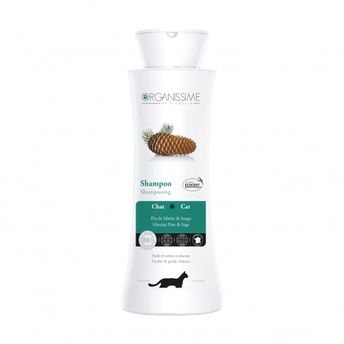 Shampooing et toilettage - Shampooing Chat Organissime pour chats