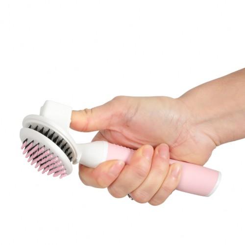 Shampooing et toilettage - Slicker rétractable Anah pour chat pour chats
