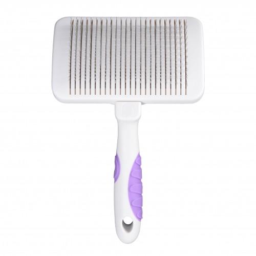 Shampooing et toilettage - Carde auto-nettoyante pour chats