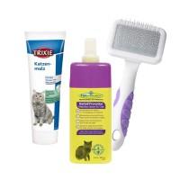 Produits de soins pour chats - PACK Hairball : anti boules de poils