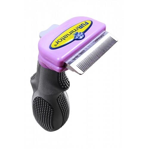 Shampooing et toilettage - Brosse Furminator poils longs pour chats