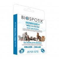 Soin cutané pour chat  - Collier Dermocare + Biospotix