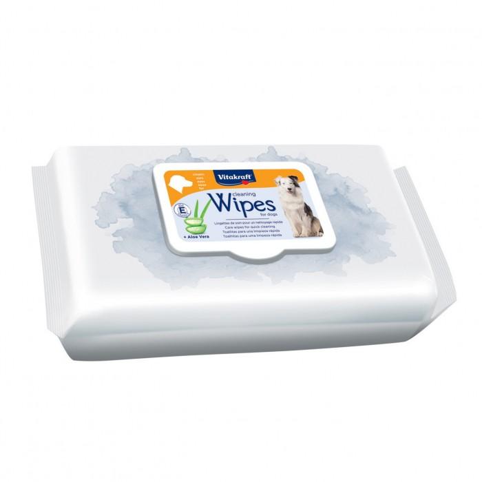 Soin et hygiène du chien - Lingettes nettoyantes à l'aloe verra pour chien pour chiens