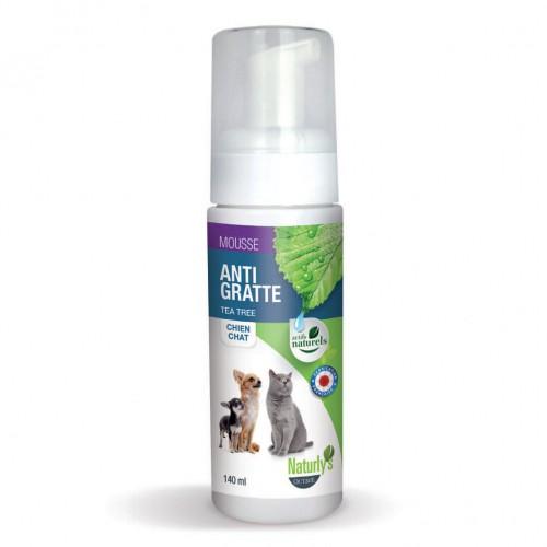 Soin et hygiène du chien - Mousse Anti démangeaisons Tea Tree pour chiens
