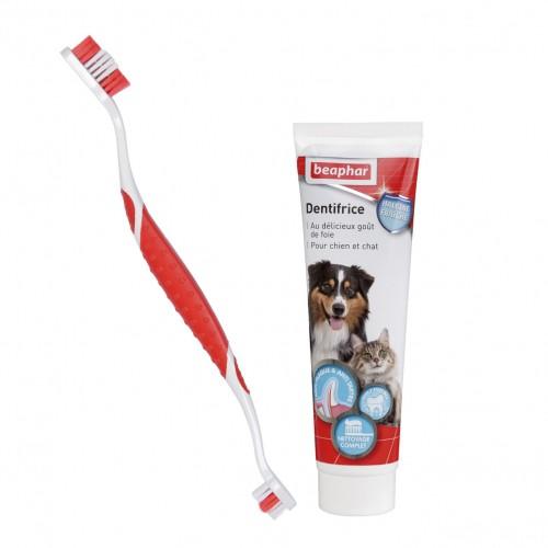 Soin et hygiène du chien - Kit d'hygiène dentaire pour chiens