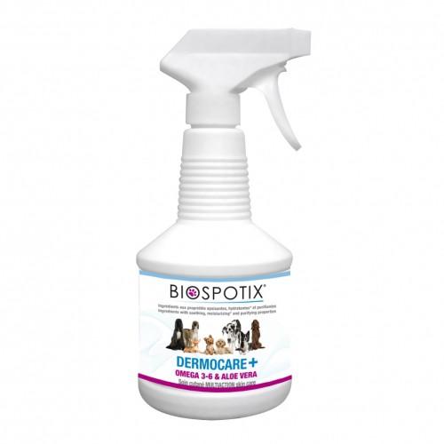 Soin et hygiène du chien - Biospotix - Dermocare + chien - Spray pour chiens