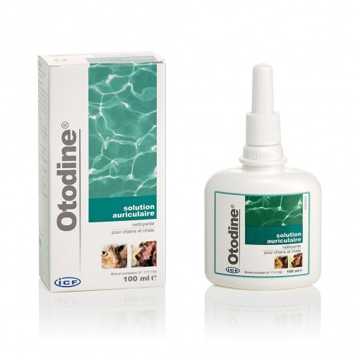 Soin et hygiène du chat - Otodine pour chats