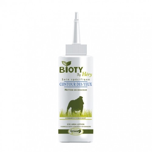 Soin et hygiène du chien - Soin contour des yeux Bioty pour chiens