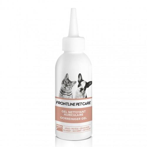 Soin et hygiène du chat - Gel nettoyant auriculaire pour chats