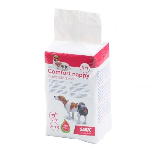 Soin et hygiène du chien - Couches culottes Comfort pour chiens
