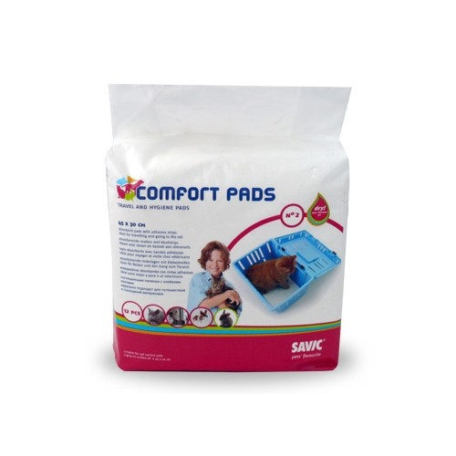 Comportement éducation - Tapis absorbants Comfort Pads pour chats